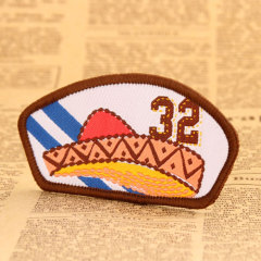 Surfing Woven Patches