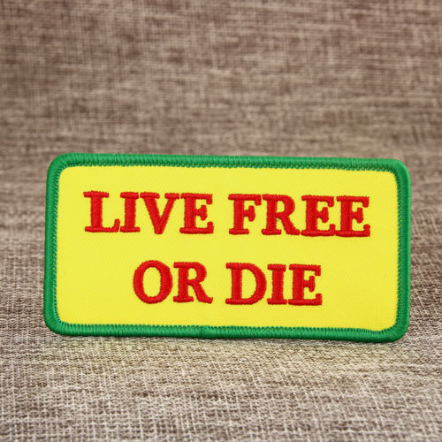Live Free Or Die Custom Patches