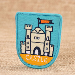 Castle Woven Patches