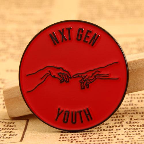 Nxt Gen Youth lapel pins