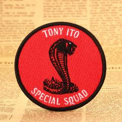 Tony Custom Patches
