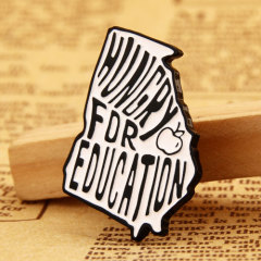 Hungry for Education Lapel Pins