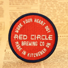 Red Circle Cheap Patches