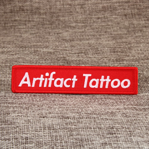 Artifact Tattoo Embroidered Patches