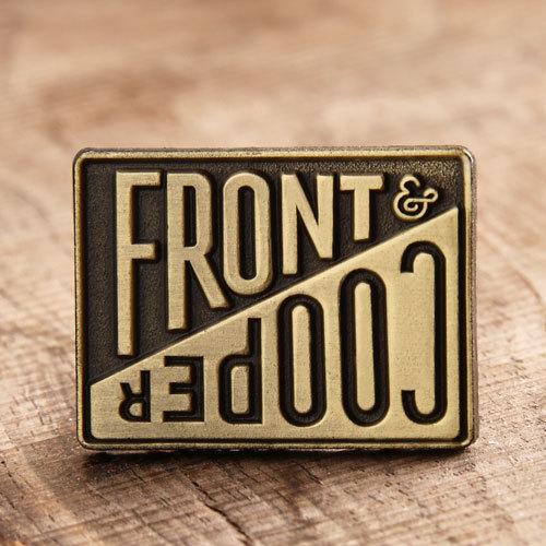 Front cooper custom pins