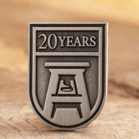 20 Years Ans Custom Pins