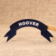 HOOVER Embroidered Patches