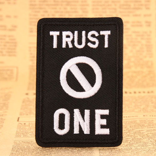 Trust Embroidered Patches