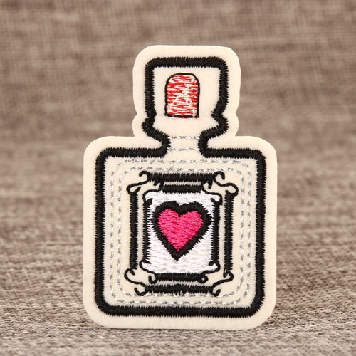 Perfume Embroidered Patches