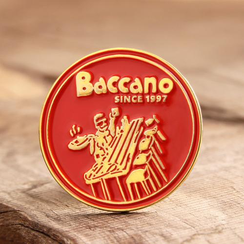 Baccano custom enamel pins
