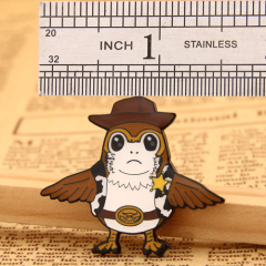 Woody Custom pins