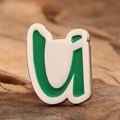 Letter U Custom Enamel Pins