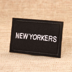 New Yorkers Embroidered Patches