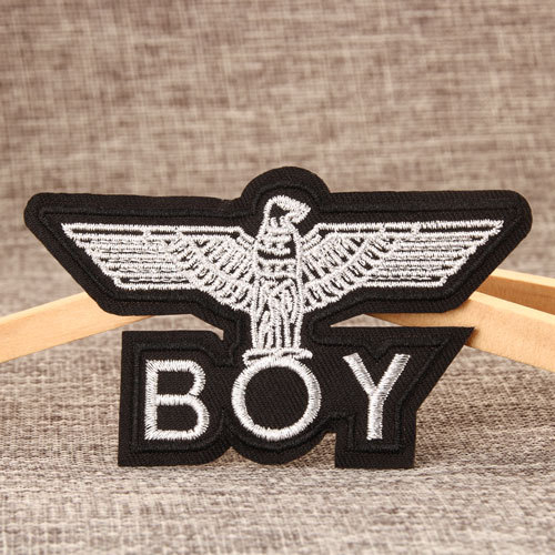 BOY Embroidered Patches