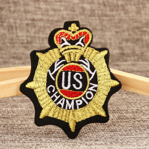 Champion Custom  Patches