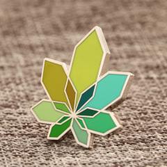 Abstract Leaf Custom Pins
