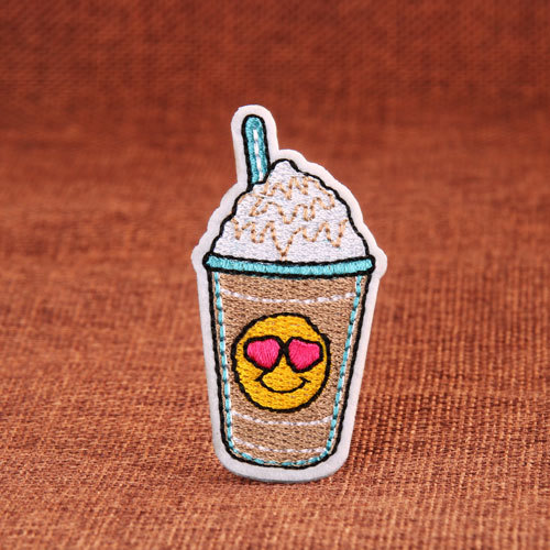 Milk Tea Embroidered Patches