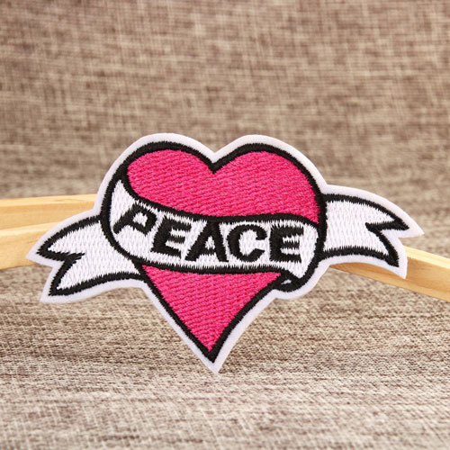 Peace Custom Patches