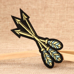 Bow and Arrow Embroidered Patches