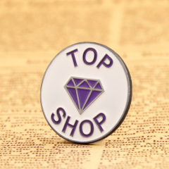 Topshop custom pins