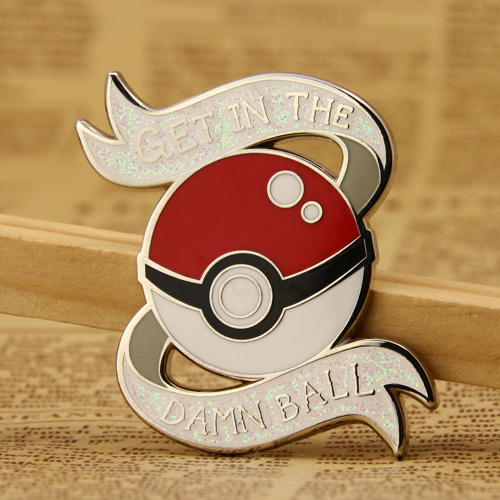 Poke Ball Custom Enamel Pins