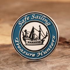 Safe Sailing Lapel Pins