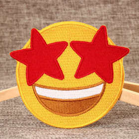 Lovely Smile Embroidered Patches