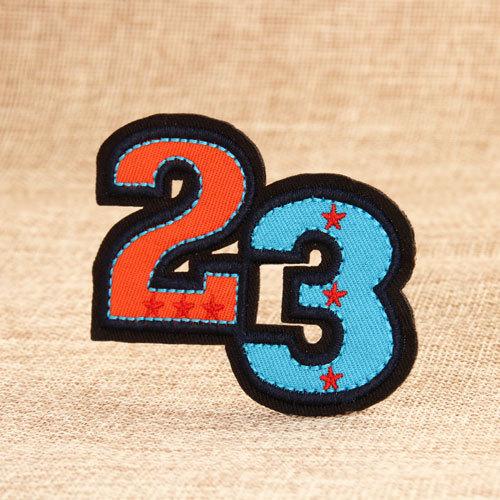 Twenty Three Embroidered Patches