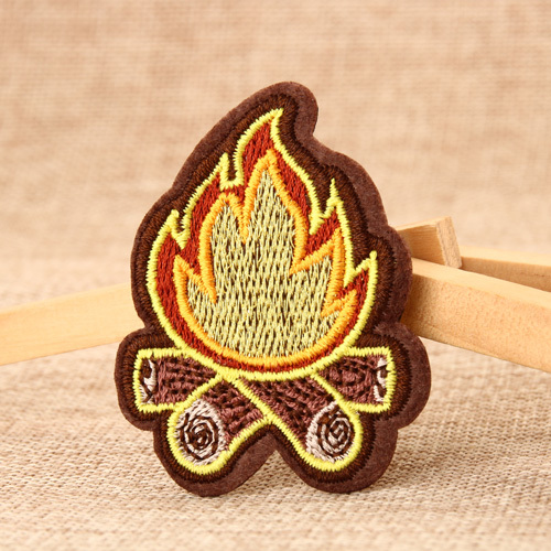 Flame Custom Patches