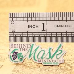 Behind the Mask Custom Pins