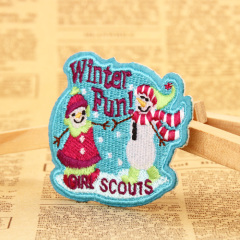 Winter Custom Patches