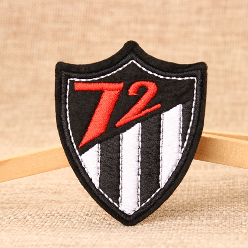 Seventy Two Embroidered Patches