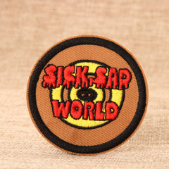 Sick Sar World Custom Embroidered Patches