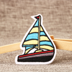 Sailboat Embroidered Patches