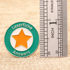 Laserfiche Answers Lapel Pins