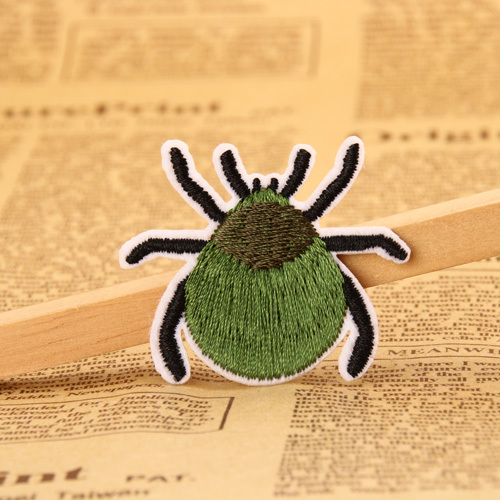Green Insect  Embroidered Patches