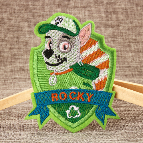 Rocky Custom Made Patches