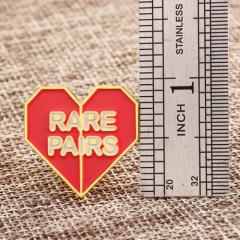 Rare Pairs Custom Enamel Pins