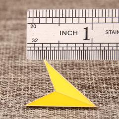 Yellow Arrowhead Lapel Pins