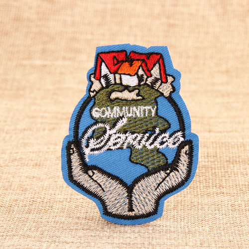 Community Embroidered Patches