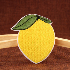Mango Embroidered Patches
