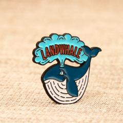 Landwhale Enamel Pins