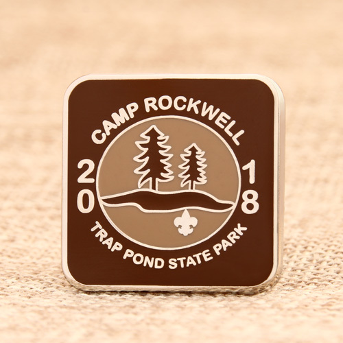 Camp Rockwell Lapel Pins