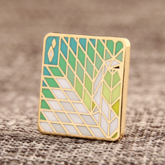 Mosaic Painting Lapel Pins