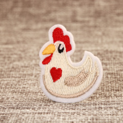 Hen Embroidered Patches