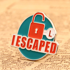 I Escaped Custom Pins