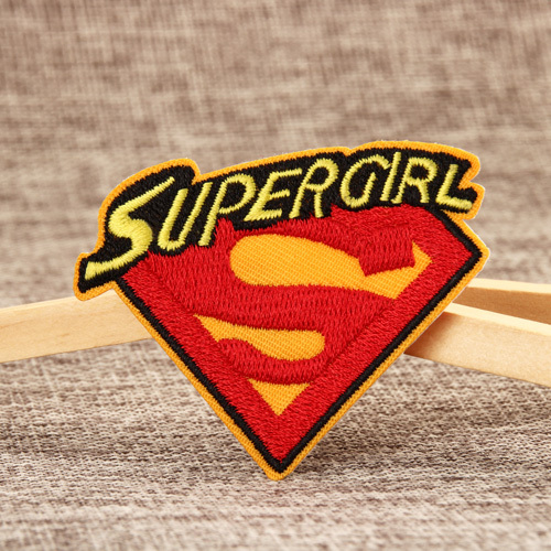 Super Girl Cheap Patches
