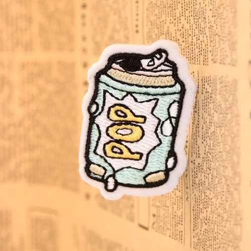 POP Embroidered Patches