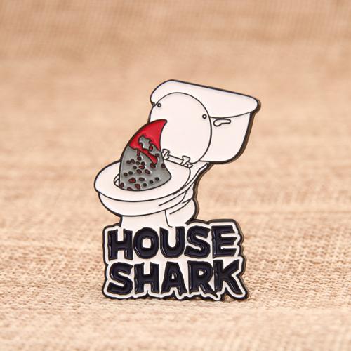 House Shark Soft Pins