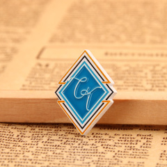 Abstract custom lapel pins